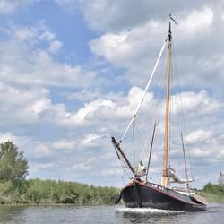 I'm sailing....