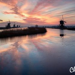 Sunrise@Kinderdijk