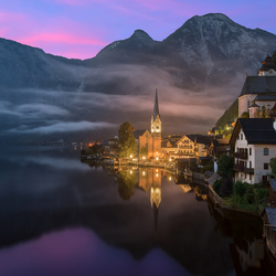 Sunrise in Hallstatt | Austria