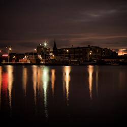 Antwerp by Night (Lobroekdok)