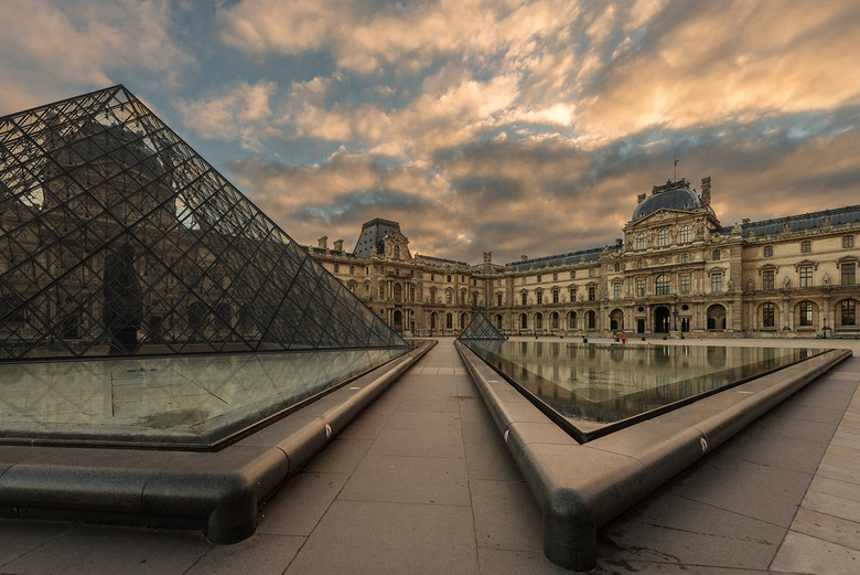 Louvre sunrise