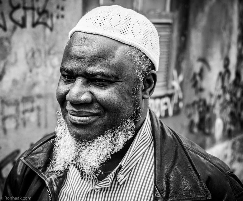 Tweerichtingsverkeer - in deze Afrikaanse baard