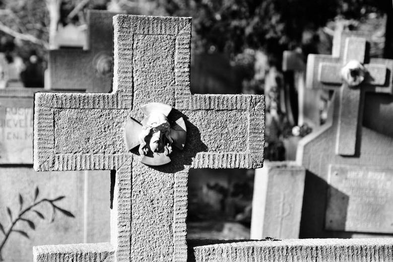 oude kerkhof - Op zoek naar een onderwerp voor de eindpresentatie van mijn fotocursus. Ik heb de rust opgezocht......