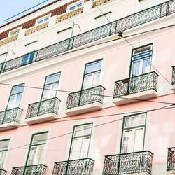 Kleurrijke huisjes in Lissabon