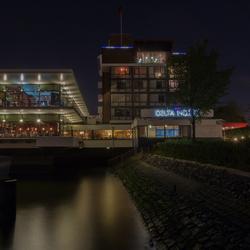 Delta hotel at night