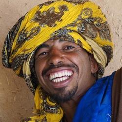 Portret, Marokko