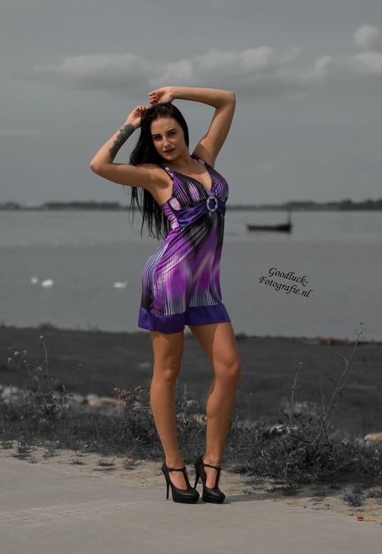 Paars - Model Klaudia<br />