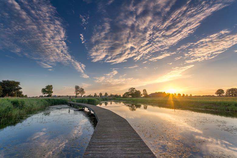 A Bridge over Troebel Water -