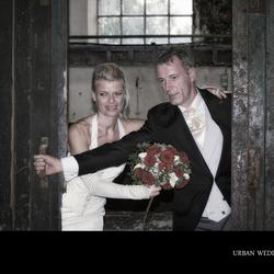 Urban wedding night