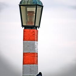 Lichtbaken haven Volendam
