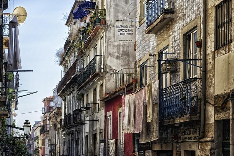 Lissabon - het centrum van Lissabon