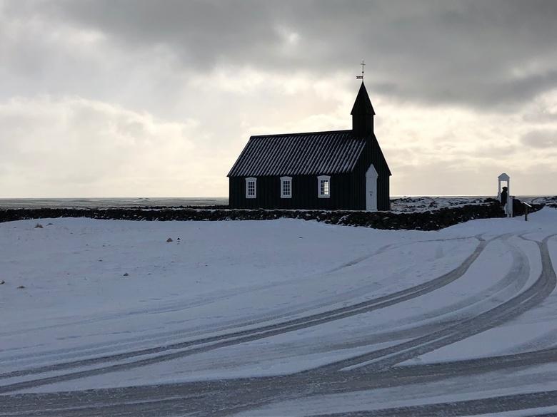 Budir Kirkja, Sneafelsness IJsland -