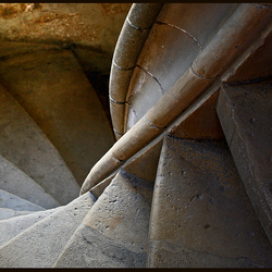 winding staircase..
