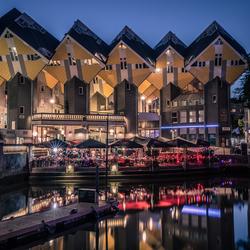 Evening in Rotterdam