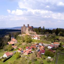Kasteel Hanstein Duitsland (Deelstaat Hessen)