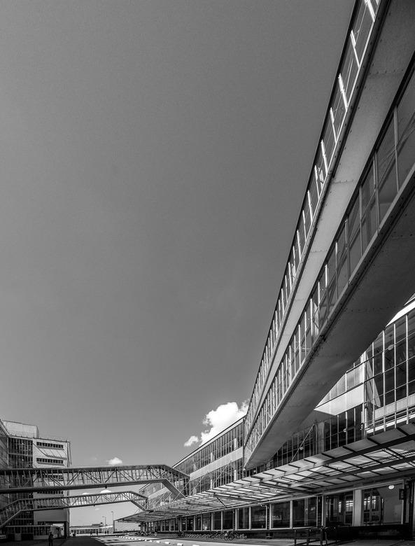 Van Nelle fabriek - Fragment van de voormalige Van Nellefabriek in Rotterdam