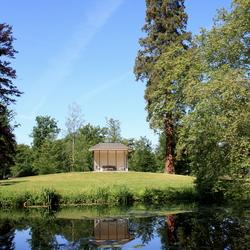 Theehuis, kasteeltuin Staverden