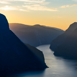 Golden hour in Norwegen