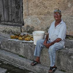 Bananenverkoper(cuba)