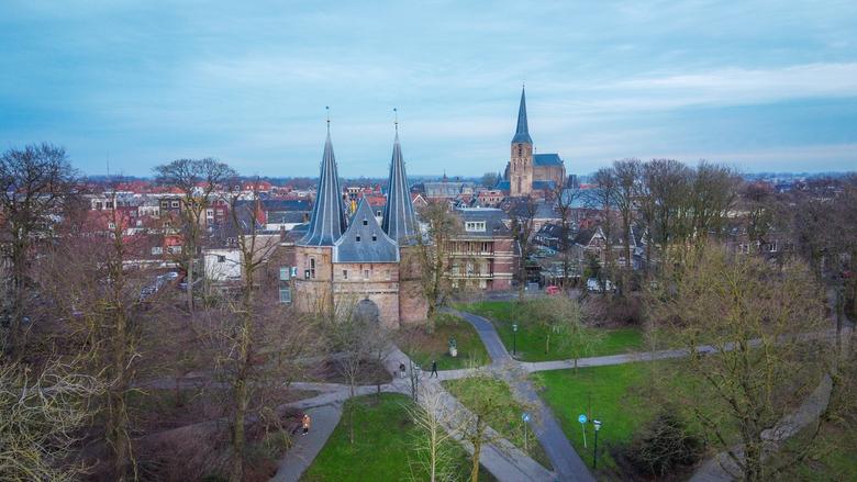 Cellebroederspoort & Bovenkerk - Kampen -