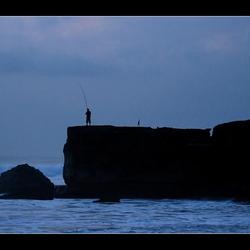 Eenzaam Vissertje