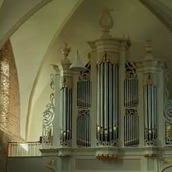 Orgel in kerkje