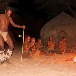 Bushman dance
