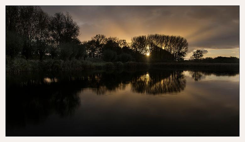 ochtendsfeer - Nabij Hulst, Zeeuws-Vlaanderen, Zeeland !