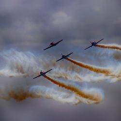 Stunt vliegtuigen