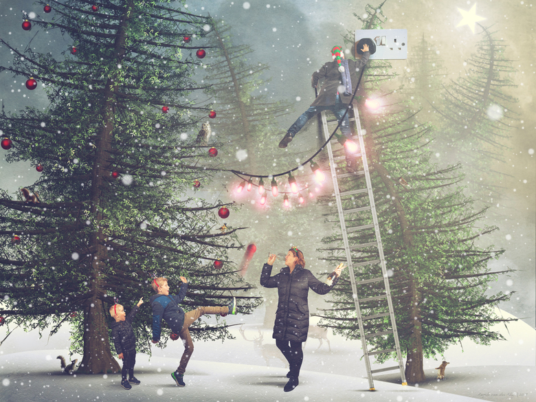 Fijne kerst en een gezond 2020 - Fijne kerstdagen en een gezond en creatief 2020!
