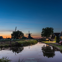Zaanse schans sunset-14