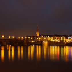 Maastricht by Blue Hour