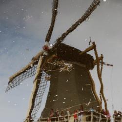 waterspiegeling molen
