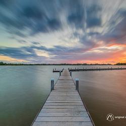 Sunset Boardwalk...