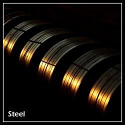 Steel in a ship