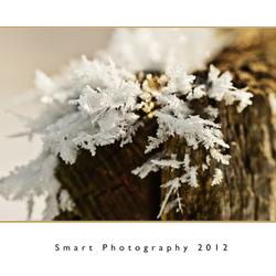 Kantwerkje van sneeuw