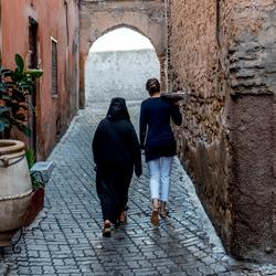 Marokkaans steegje