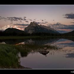 Sunset at Vermilion Lakes