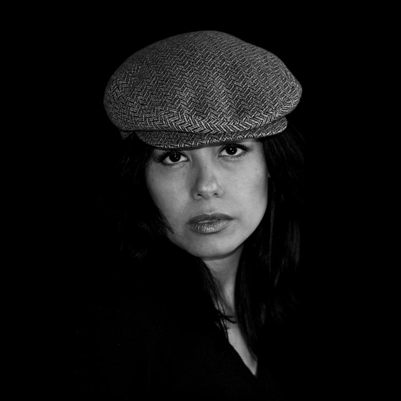 Coniglietta in zwart-wit - In dezelfde shoot nu een zwart-wit foto.