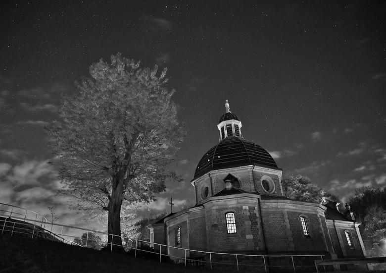 de kapel op de Muur van Geraardsbergen -