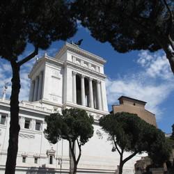 De bruidstaart van Rome