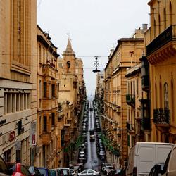 Oplopende  straatjes