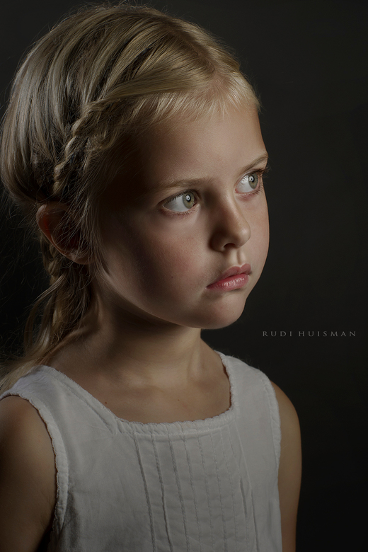 Evy - Studioportret van Evy.