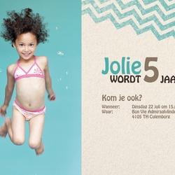 Verjaardagskaart van Jolie