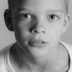 zwart wit portret 2