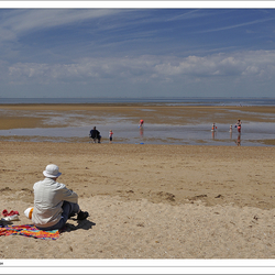 People on Hunstanton Beach - Norfolk 2#6