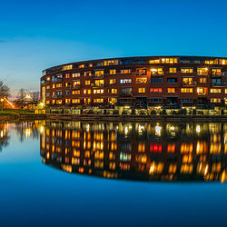 Blauwe uurtje ergens in Arnhem