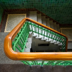 groene trap