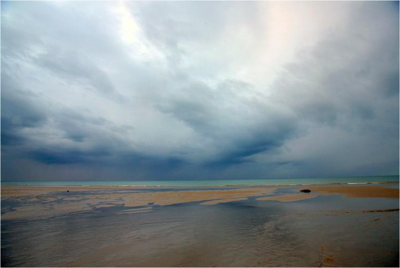 Storm ! - Storm opkomst langs de opaal kust in Frankrijk.