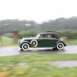 Mercedes bij Classic Days Schloss Dyck